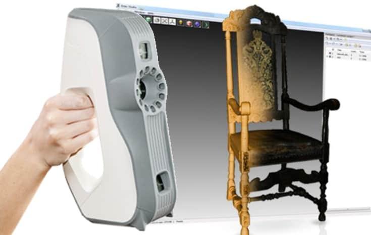 Handheld 3D scanners